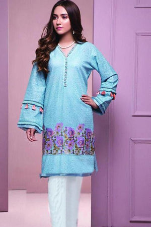 Maria.B MB-3288 ChikenKari Embroidered Two Piece Lawn Collection