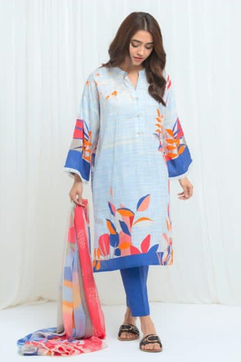 Beechtree BT-02 Printed  Three Piece Lawn Collection