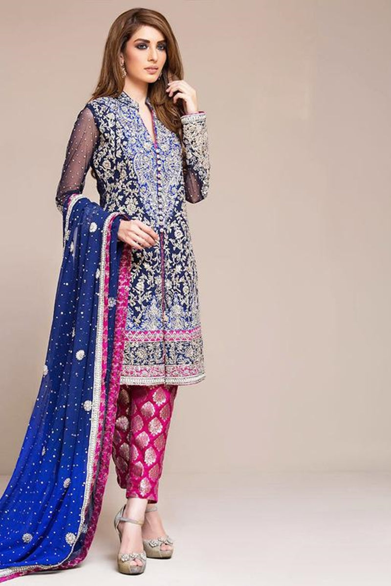 Zainab Chottani ZC-06 Embroidered Three Piece Lawn Collection