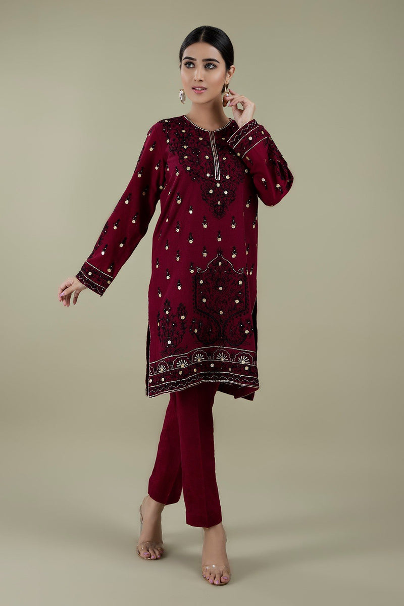 Kayseria CH-01 MehronEmbroidered Two Piece Lawn Collection