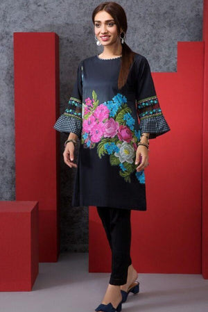 Khaadi 19502 Lawn three piece suit Summer Collection
