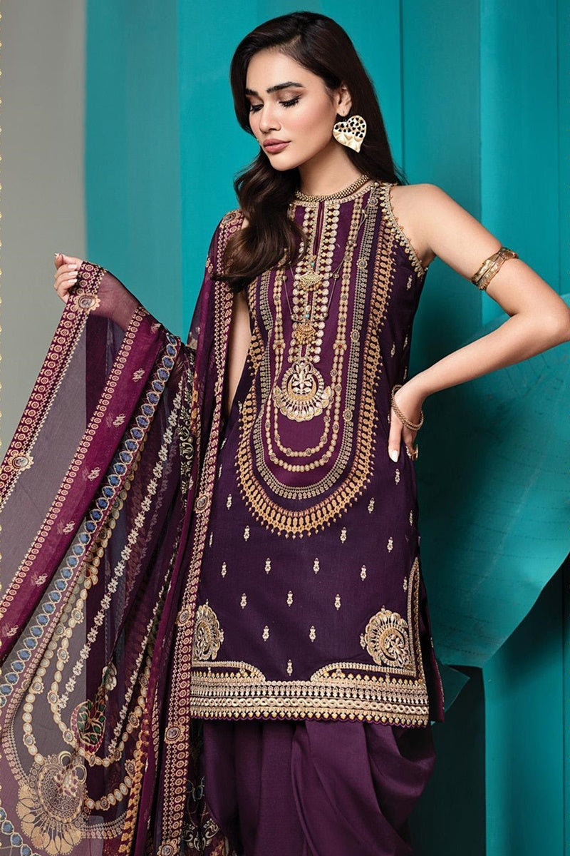 Anaya Viva 04-A  Embroidered Three Piece Lawn Collection