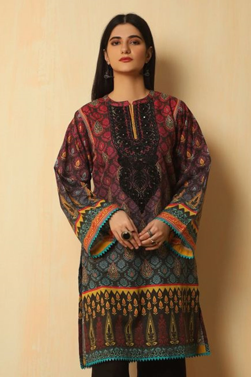 Zelburry IT-01 Eid Collection Lawn three piece suit Summer Collection