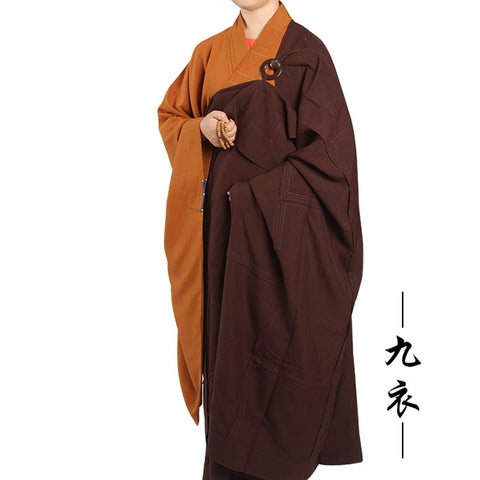 Nine Panel Buddhist Kesa Jiasha Fo guang shan temple monk dress