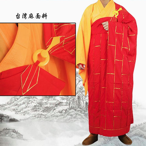 The 25 Strip Kesa,Buddha Robe in Red Brown Black Yellow etc All Customize