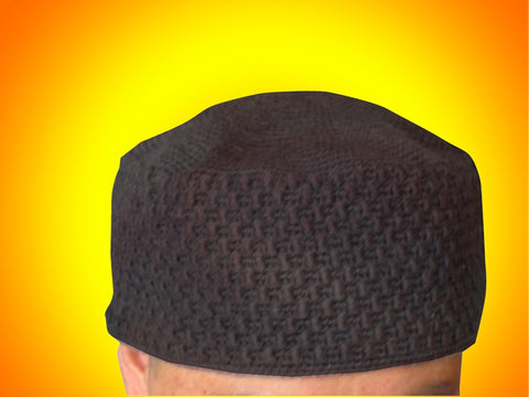 Buddhist priest zen master monk hat wool knitted by hand