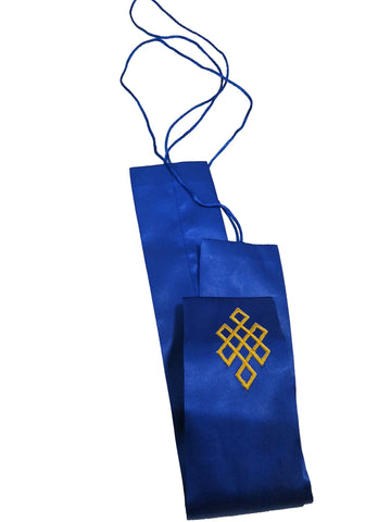 Simplified Kasa Hangesa with Shrivasta (Endless Knot), Buddhist Rites Tie