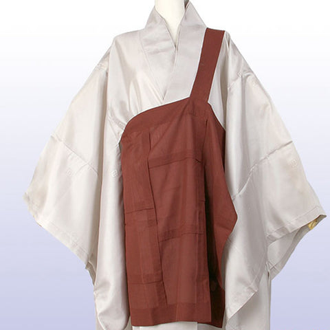 Brown panel ban gasa bangasa Zen ceremony kasa robe order