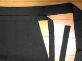 Japanese classic pleats buddhist trousers hakama