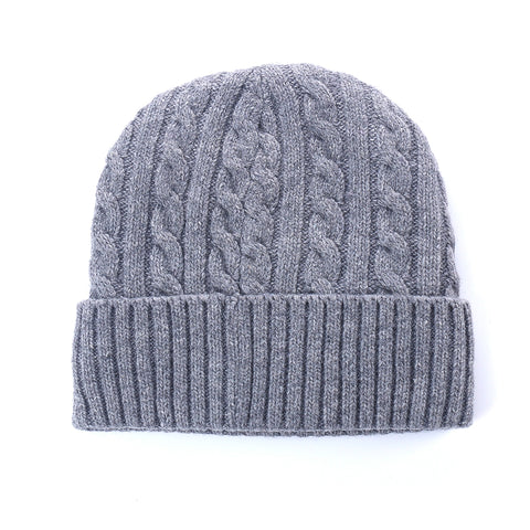 Korea Buddhism Grey Wool Woven Knit Hat Offer