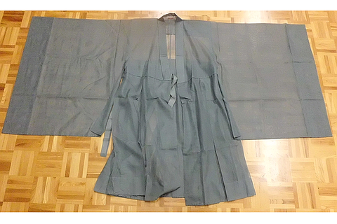 Koromo Linen Zen Meditation Robe SOTO Deep Sleeves,Rinzai Zen etc Custom Tailor&Fitting