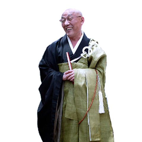 BUDDHIST OKESA, RINZAI ZEN MONK ROBE, GREEN OR CUSTOM ORDER, AUTHENTIC