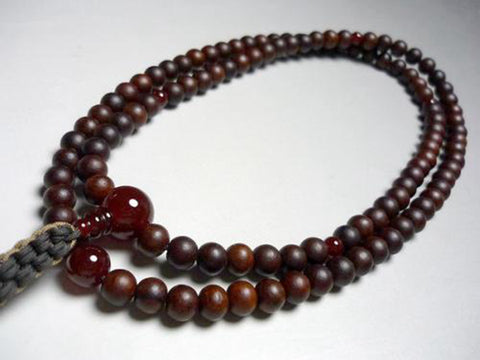 rosewood zitan shitan buddhist prayer beads design