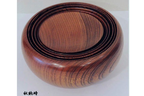 Japanese wooden Oryoki set Zen Buddhist bowls supply