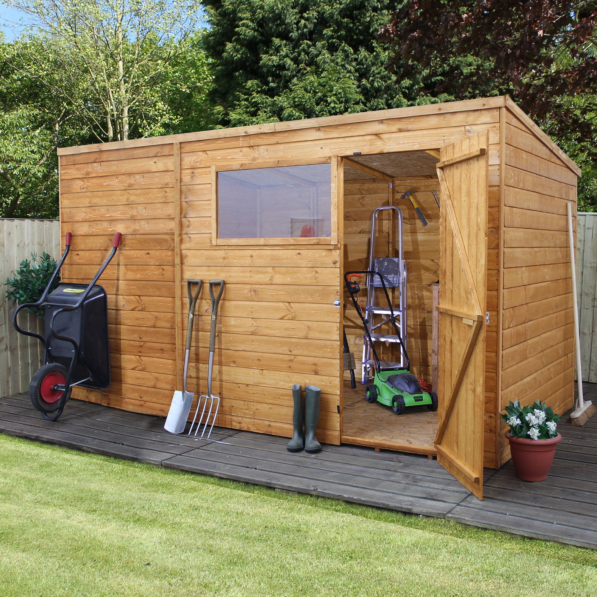 contemporary sheds she pin corner roof house search pent shed google