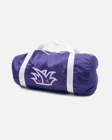 Purple Blades Duffle Bag