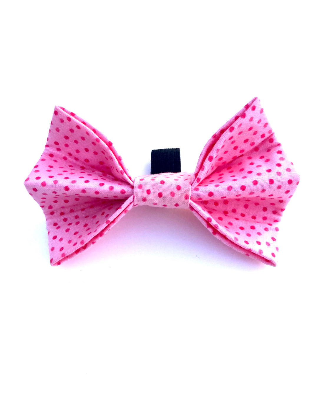 Pink Spots Bow