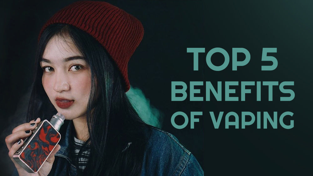 What is benefit about vaping?