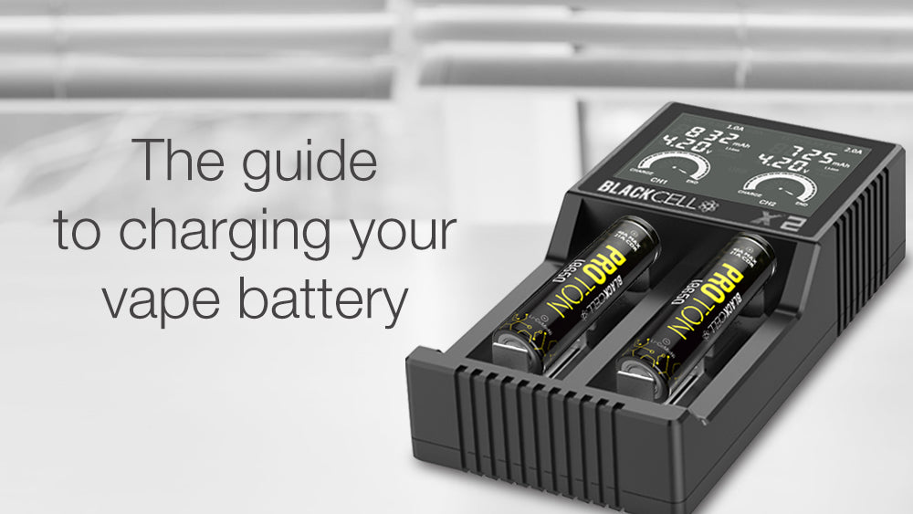 The guide to charging your vape battery