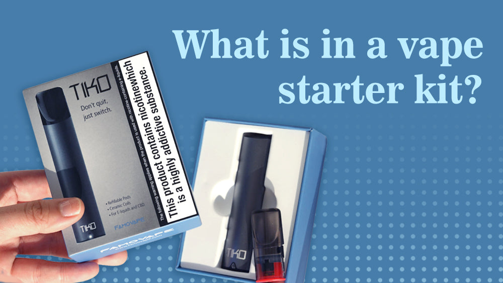 What is in a vape starter kit?