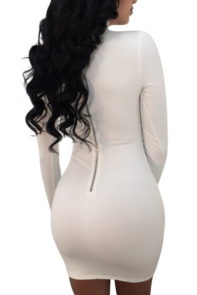 Keyhole Bodycon Dress, Dresses, Luna Soul, Luna Soul