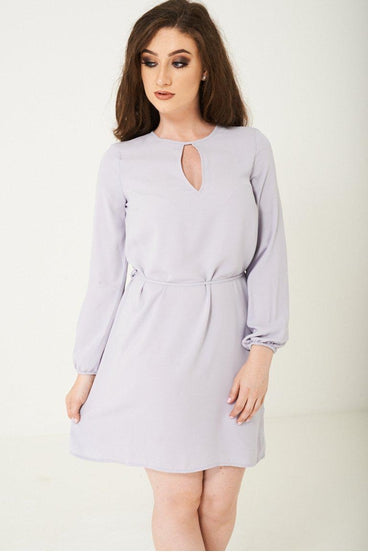 GREY LIGHTWEIGHT DRESS - GREY | Luna Soul
