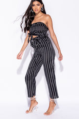 VERTICAL STRIPE SET - BLACK | Luna Soul