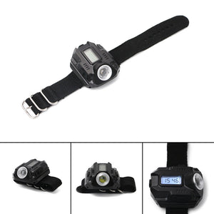 Rechargeable Tactical Flashlight Watch