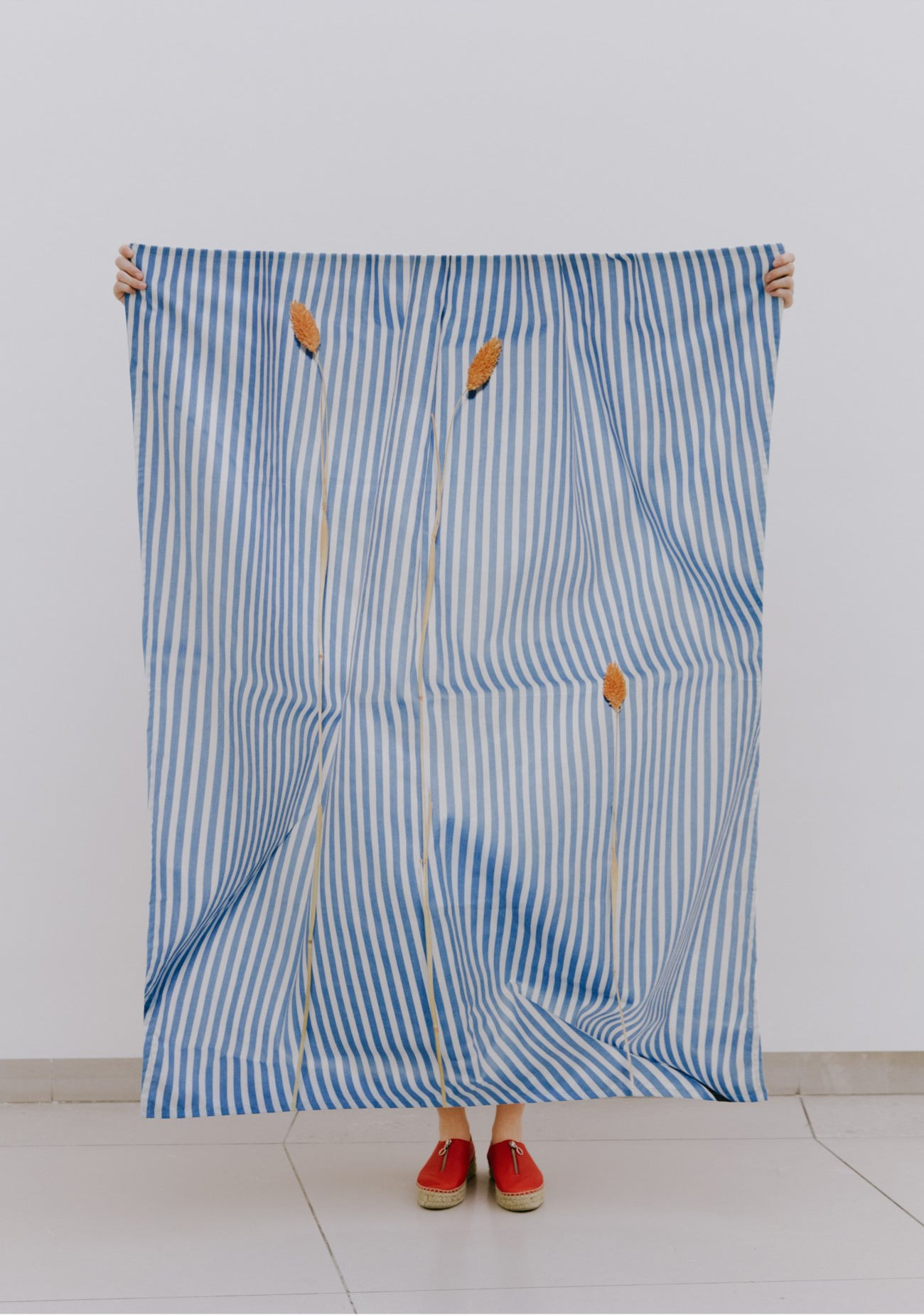 Annette Kelm | Straws and Stripes | Towel