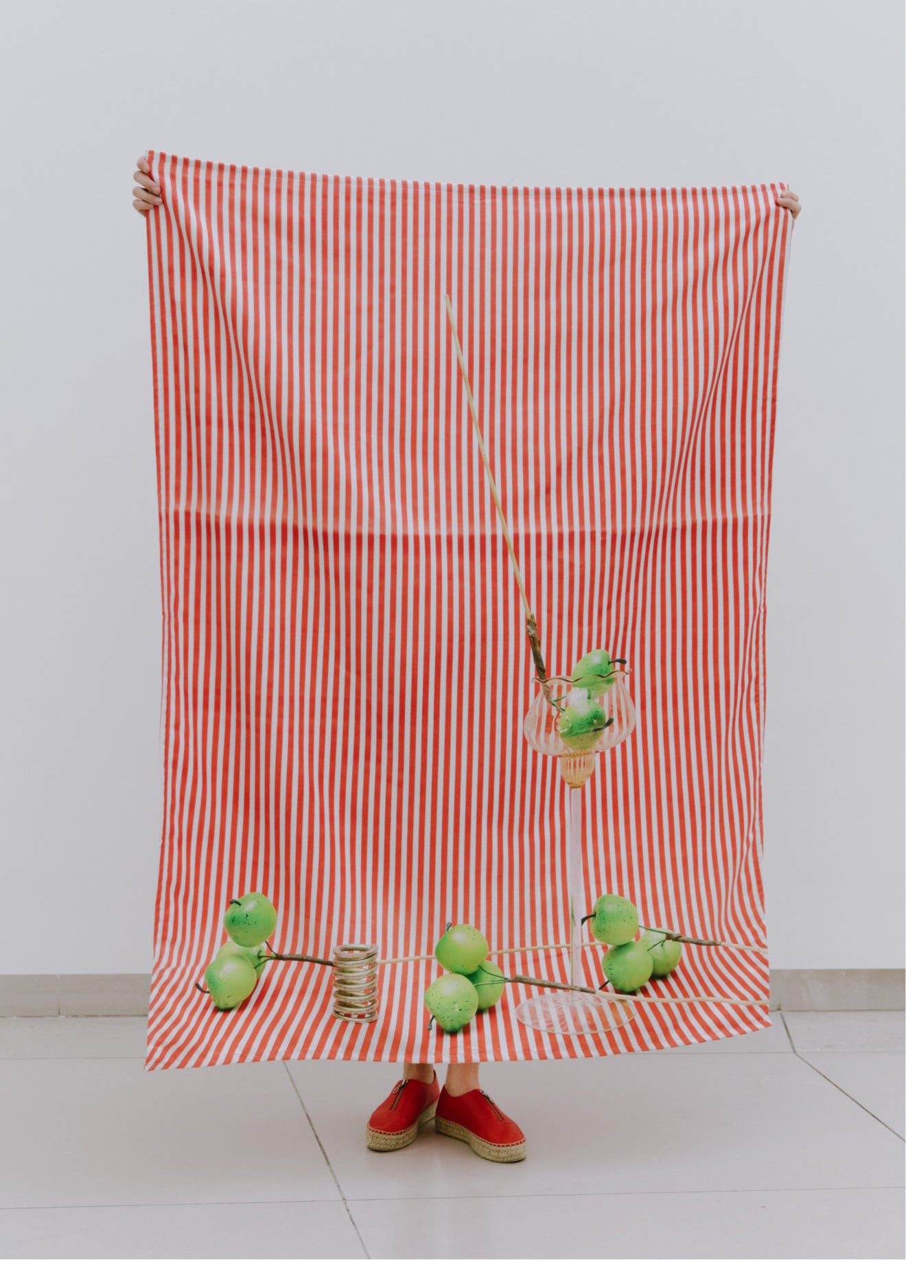 Annette Kelm | Apples | Towel