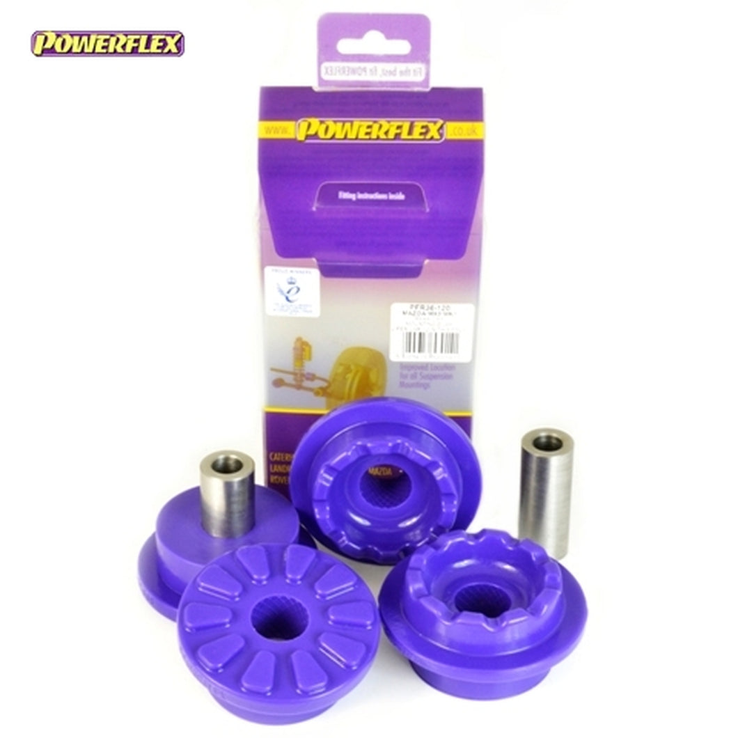 Powerflex Rear Diff Mounting Bushes - Mazda MX-5, Miata, Eunos Mk1/Mk2 NA/NB (1989-2005) - PFR36-120