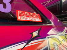 Destroy Or Die 'Retro Race' Sticker