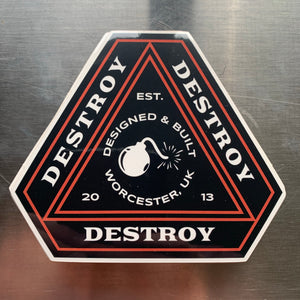 Destroy Or Die 'Trinity' Sticker