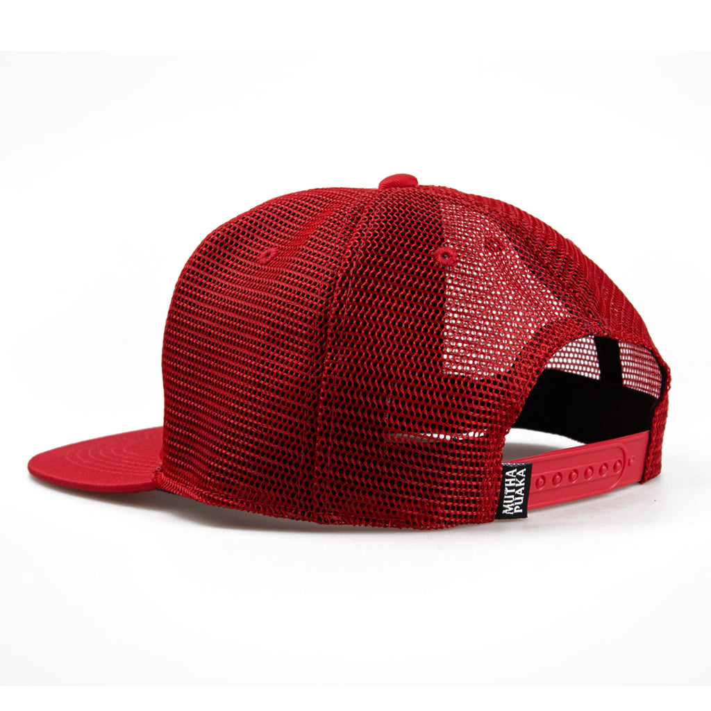 MP LOGO TRUCKER HAT RED