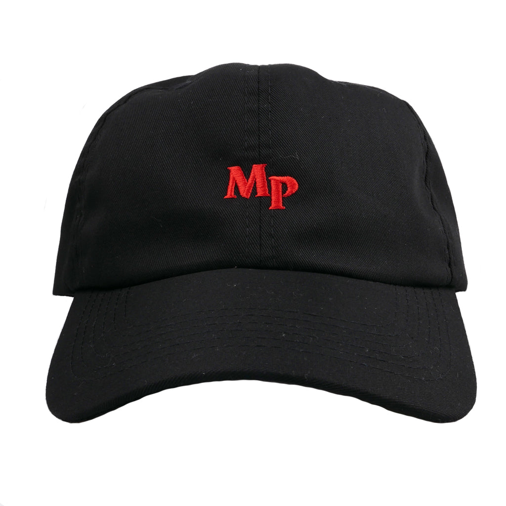 MP LETTERS DAD HAT (Red)