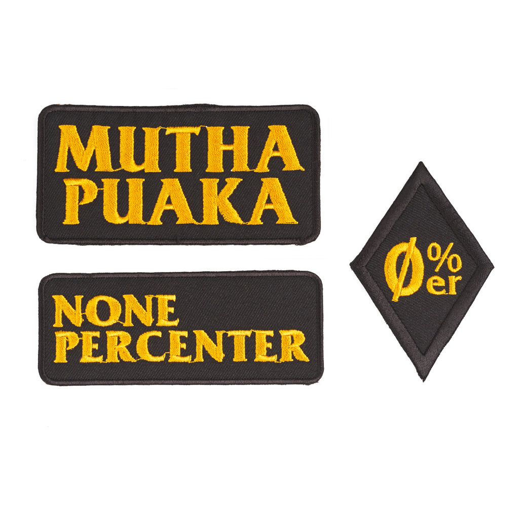 MP PATCHES BLACK