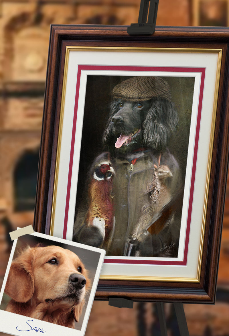 GYS Flatcap Pet Portrait at Turner & Walker