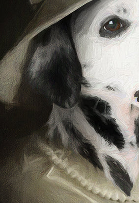 Miss Daisy Pet Portrait at Turner & Walker