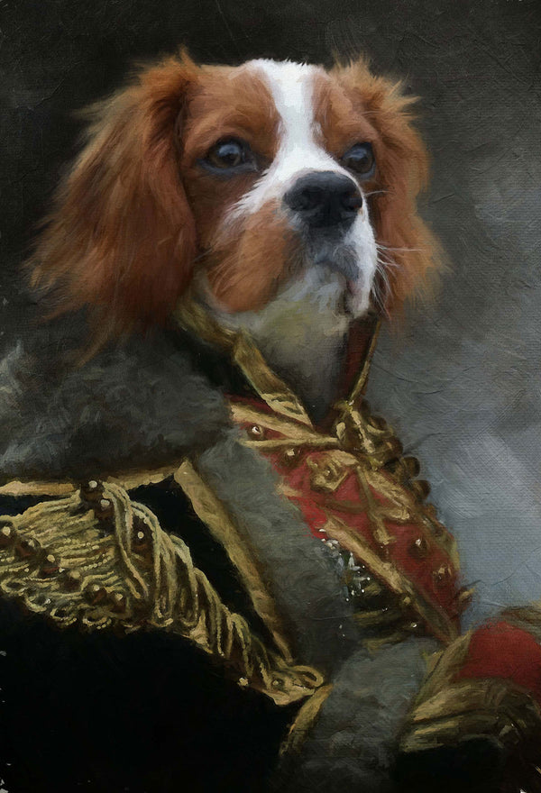 Geoffrey Pet Portrait at Turner & Walker