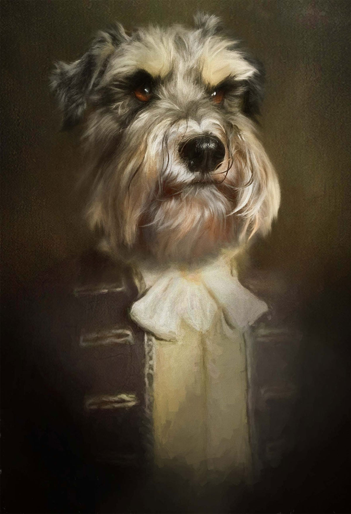Sir Paws Pet Portrait at Turner & Walker