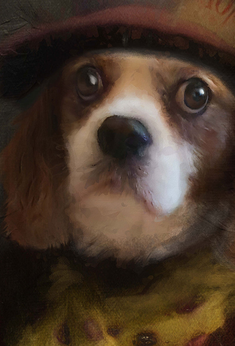 Hatter Pet Portrait at Turner & Walker