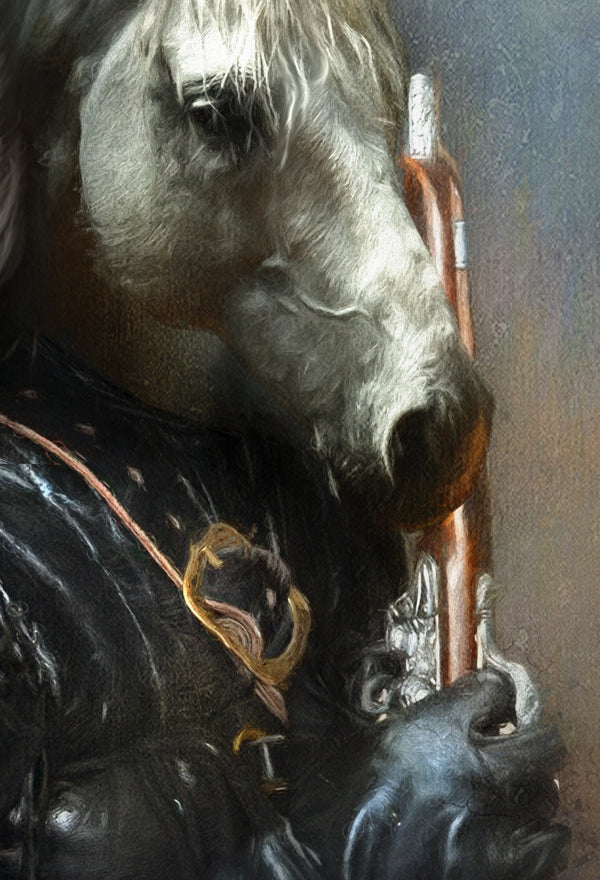 Highwayman Pet Portrait at Turner & Walker