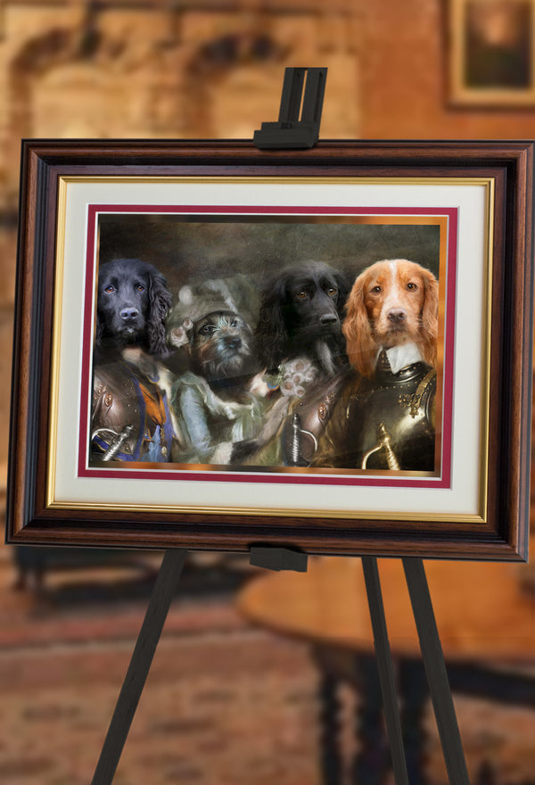 The Quest Pet Portrait at Turner & Walker