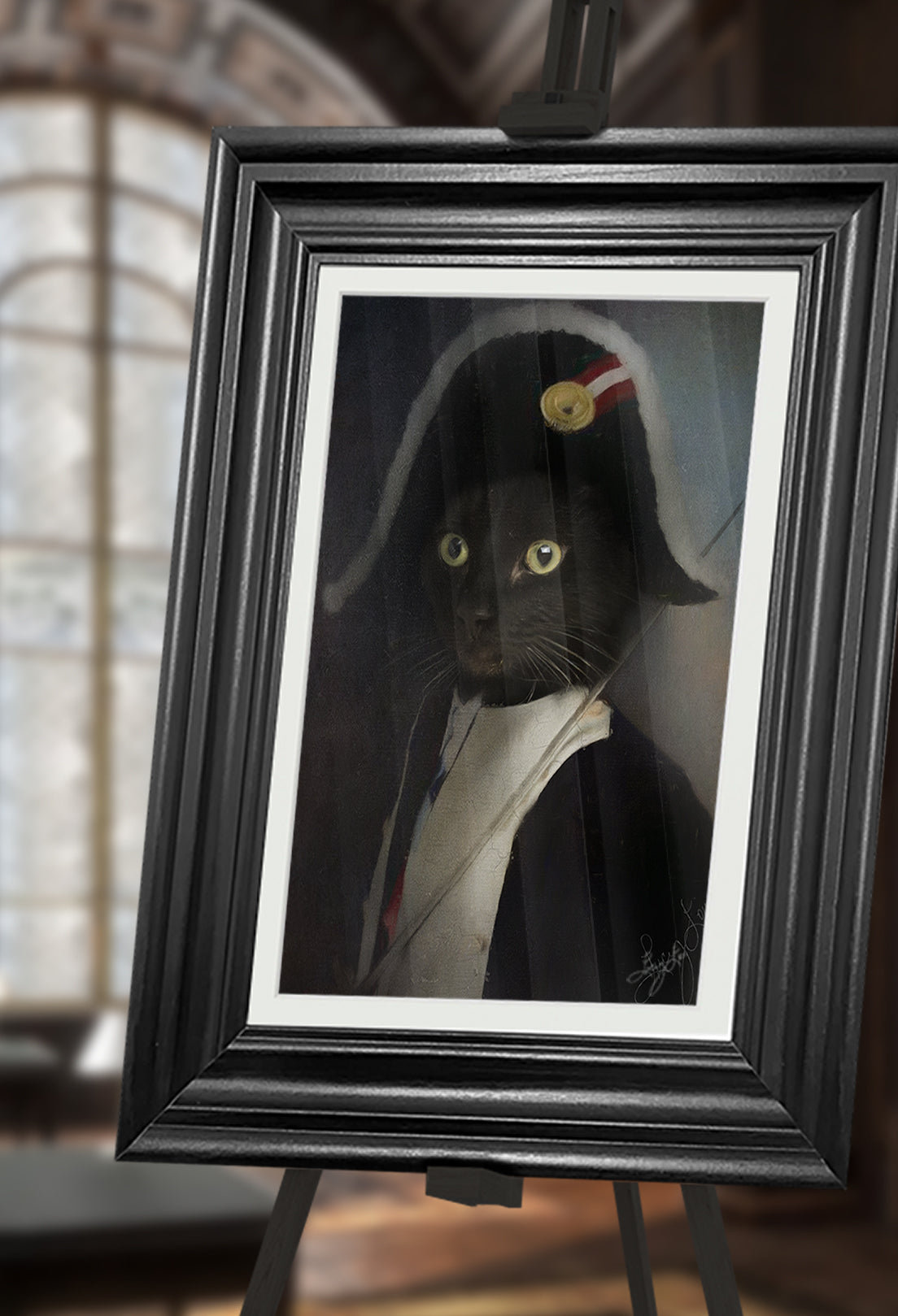 Admiral Pet Portrait at Turner & Walker