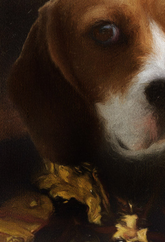 Beagle Pet Portrait at Turner & Walker