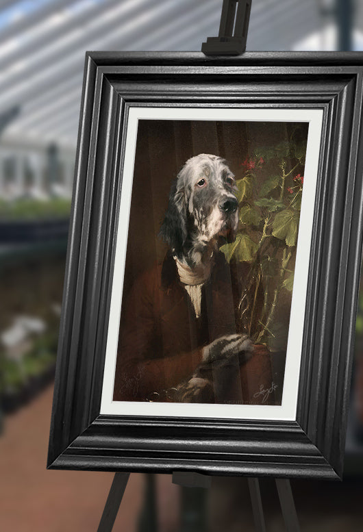 The Botanist Pet Portrait at Turner & Walker