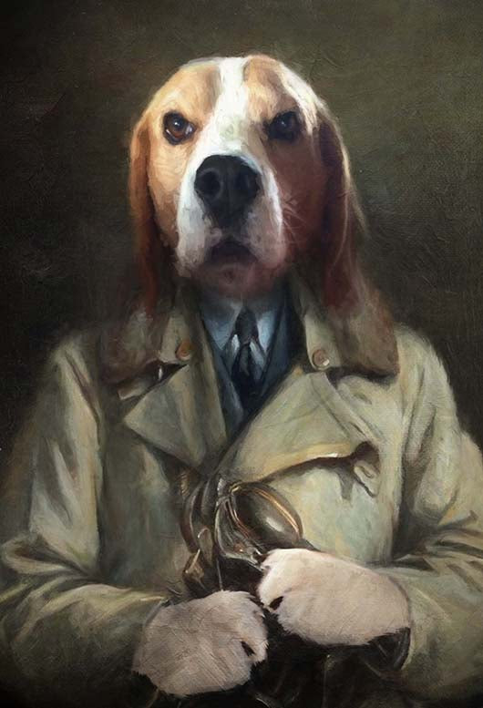 Delta Oscar Golf Pet Portrait at Turner & Walker