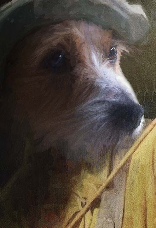 Fisherman Pet Portrait at Turner & Walker