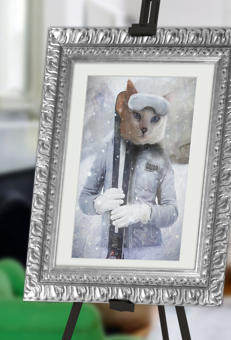 Frosty Pet Portrait at Turner & Walker