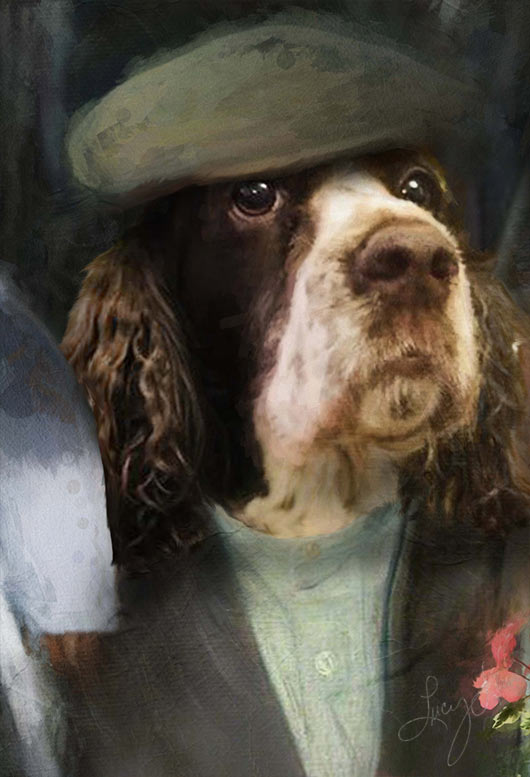 The Gardener Pet Portrait at Turner & Walker